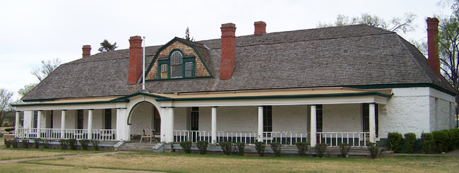 The Administration/Museum Building at Fort Stanton, New Mexico -- Crocker Ltd's latest historic preservation project.